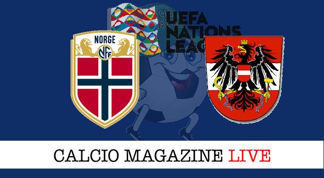 Austria Norvegia cronaca diretta live risultato in tempo reale