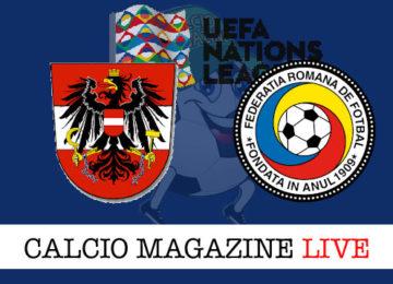 Austria Romania cronaca diretta live risultato in tempo reale