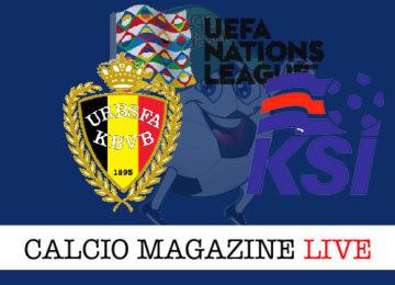 Belgio Islanda cronaca diretta live risultato in tempo reale