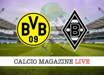 Borussia Dortmund Borussia Monchengladbach cronaca diretta live risultato in tempo reale