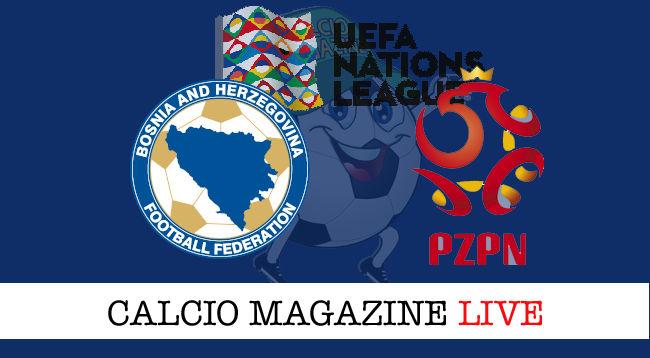 Bosnia Polonia cronaca diretta live risultato in tempo reale