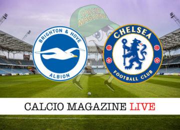 Brighton Chelsea cronaca diretta live risultato in tempo reale