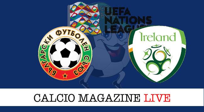 Bulgaria Irlanda cronaca diretta live risultato in tempo reale