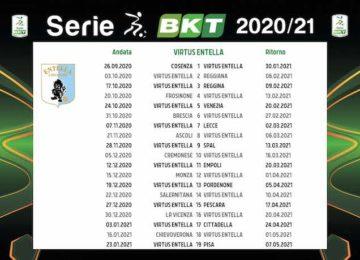 Calendario Virtus Entella 2020/2021: tutte le partite