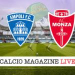 Empoli Monza cronaca diretta live risultato in tempo reale