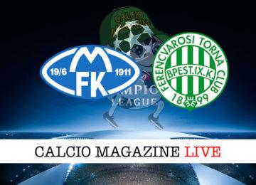 Ferencvaros Molde cronaca diretta live risultato in tempo reale
