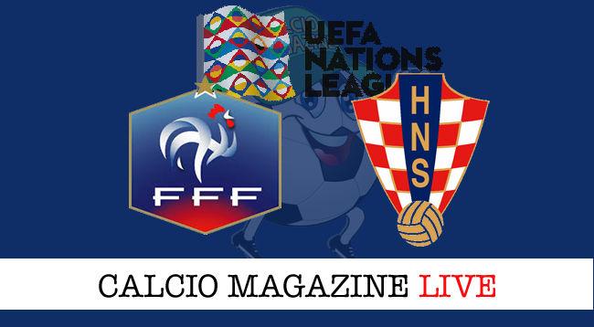 Francia Croazia cronaca diretta live risultato in tempo reale