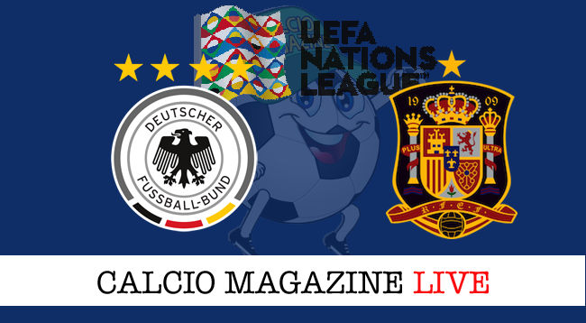 Germania Spagna cronaca diretta live risultato in tempo reale