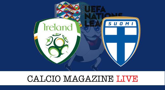 Irlanda Finlandia cronaca diretta live risultato in tempo reale