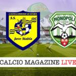 Juve Stabia Monopoli cronaca diretta live risultato in tempo reale