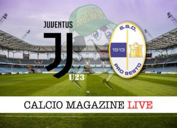 Juventus U23 Pro Sesto cronaca diretta live risultato in tempo reale
