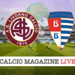 Livorno Pro Patria cronaca diretta live risultato in tempo reale