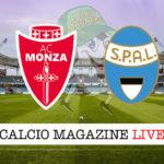 Monza Spal cronaca diretta live risultato in tempo reale