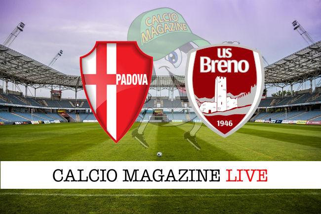 Padova Breno cronaca diretta live risultato in tempo reale