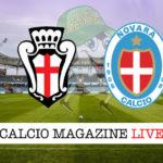 Pro Vercelli Novara cronaca diretta live risultato in tempo reale