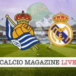Real Sociedad Real Madrid cronaca diretta live risultato in tempo reale
