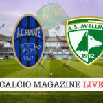 Renate Avellino cronaca diretta live risultato in tempo reale