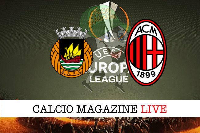 Rio Ave Milan cronaca diretta live risultato in tempo reale