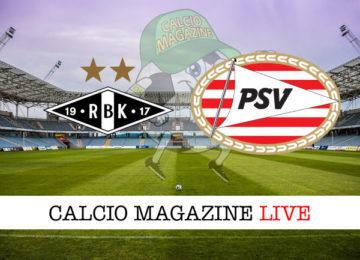Rosenborg PSV Eindhoven Monaco cronaca diretta live risultato in tempo reale