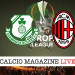 Shamrock Rovers Milan cronaca diretta live risultato in tempo reale