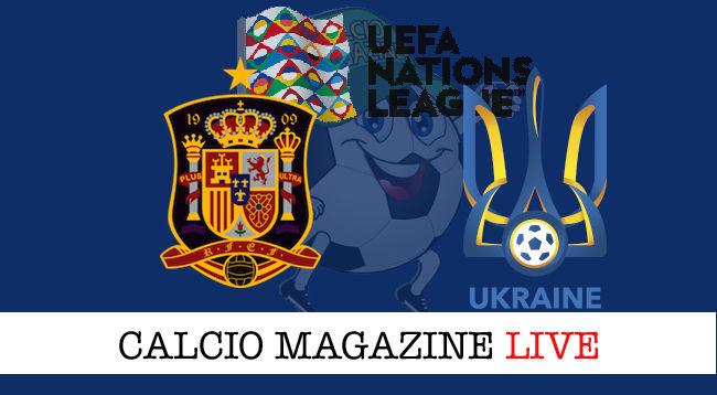 Spagna Ucraina cronaca diretta live risultato in tempo reale
