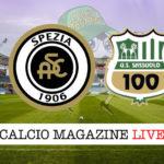 Spezia Sassuolo cronaca diretta live risultato in tempo reale