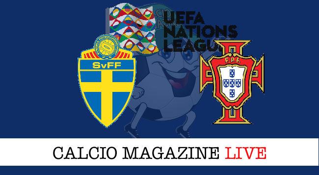Svezia Portogallo cronaca diretta live risultato in tempo reale