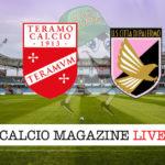 Teramo Palermo cronaca diretta live risultato in tempo reale