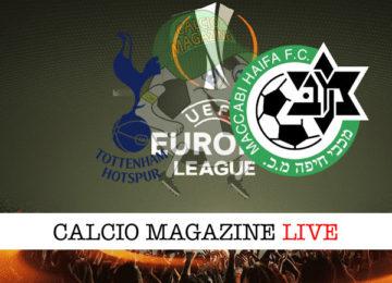 Tottenham Maccabi Haifa cronaca diretta live risultato in tempo reale