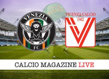 Venezia Vicenza cronaca diretta live risultato in tempo reale