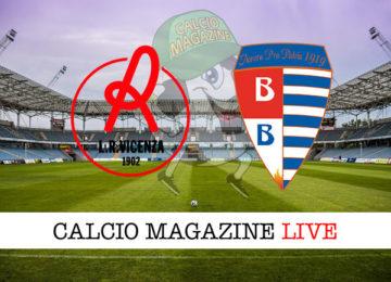 Vicenza Pro Patria cronaca diretta live risultato in tempo reale