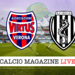 Virtus Verona Cesena cronaca diretta live risultato in tempo reale