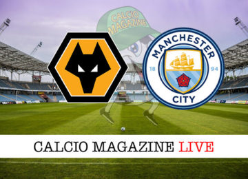 Wolves Manchester City cronaca diretta live risultato in tempo reale