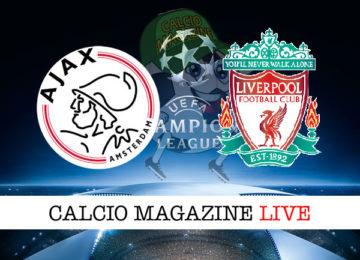 Ajax Liverpool cronaca diretta live risultato in tempo reale