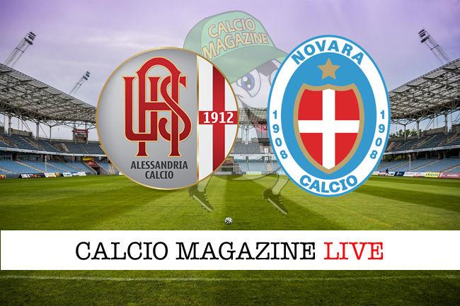 Alessandria Novara cronaca diretta live risultato in tempo reale