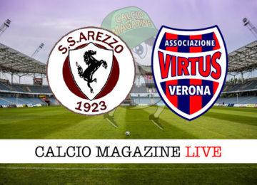 Arezzo Virtus Vecomp Verona cronaca diretta live risultato in tempo reale