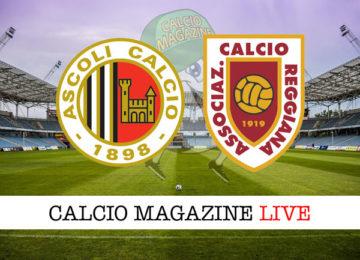 Ascoli Reggiana cronaca diretta live risultato in tempo reale