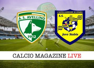 Avellino Juve Stabia cronaca diretta live risultato in tempo reale