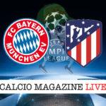 Bayern Monaco Atletico Madrid cronaca diretta live risultato in tempo reale