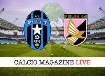 Bisceglie Palermo cronaca diretta live risultato in tempo reale