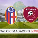 Bologna Reggina cronaca diretta live risultato in tempo reale