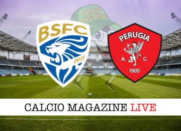 Brescia Perugia cronaca diretta live risultato in tempo reale