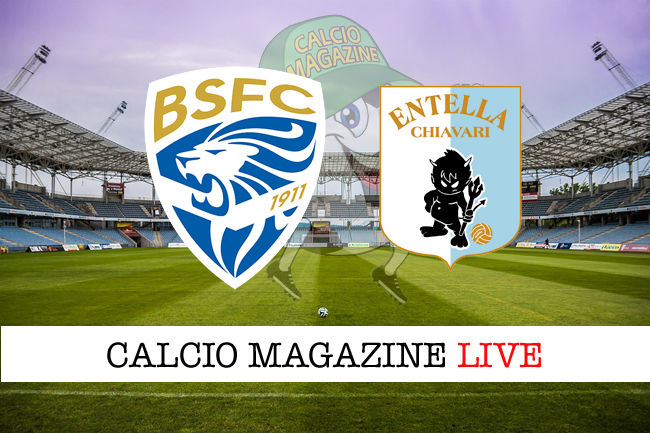 Brescia Virtus Entella cronaca diretta live risultato in tempo reale