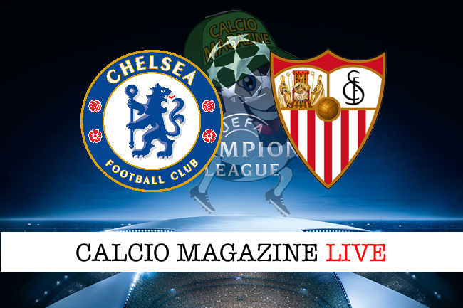 Chelsea Siviglia cronaca diretta live risultato in tempo reale