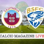 Cittadella Brescia cronaca diretta live risultato in tempo reale
