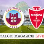 Cittadella Monza cronaca diretta live risultato in tempo reale