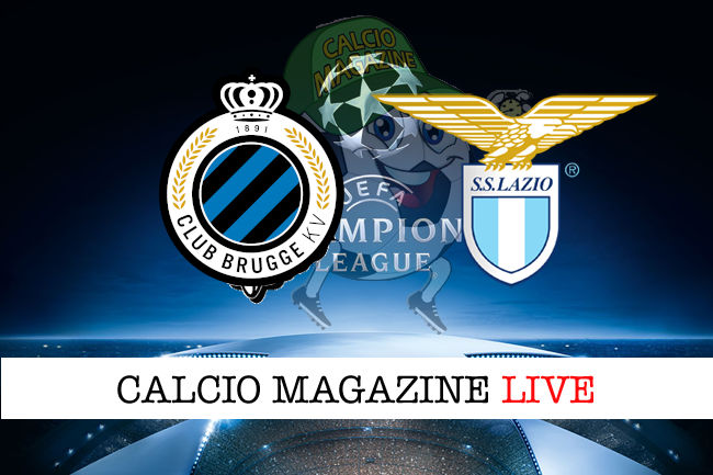 Club Brugge Lazio cronaca diretta live risultato in tempo reale