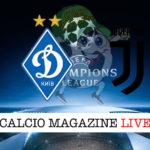 Dinamo Kiev Juventus cronaca diretta live risultato in tempo reale