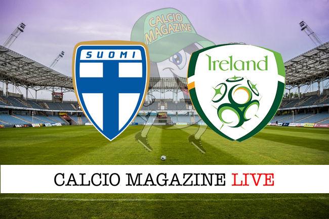Finlandia Irlanda cronaca diretta live risultato in tempo reale