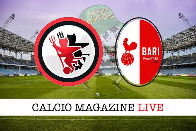 Foggia Bari cronaca diretta live risultato in tempo reale